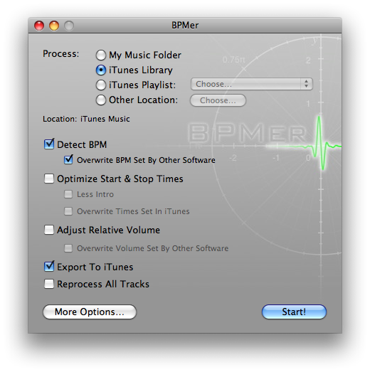 BPM Analyzer | Mac OS X Software Directory