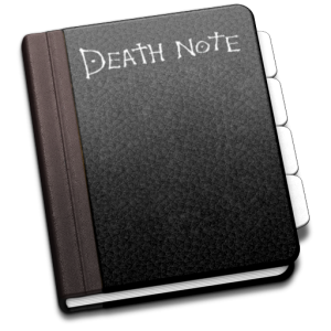 Death Note for Address Book Icon