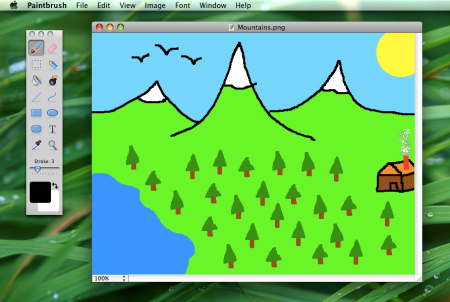 Paintbrush Screenshot