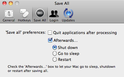 ForeverSave Lite 1.1 Save all Preference 2