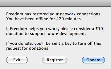 Freedom 0.51 donation