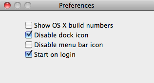 QuickBoot 1.0.4 Preference 1