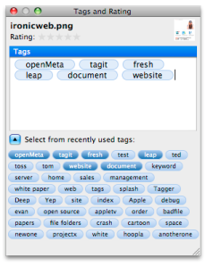 Tagit Tagging Screen