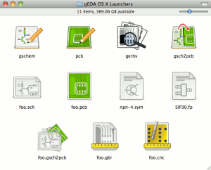 gEDA wrapper apps icon