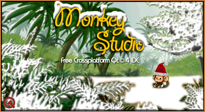 Monkey Studio IDE 1.9.0.4 Splash Xmas