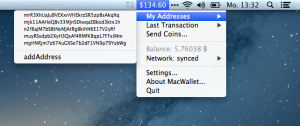MacWallet Screenshot 2