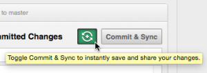 GitHub 192 Sync Toggle
