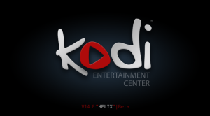 Kodi 14.0b1 Splash