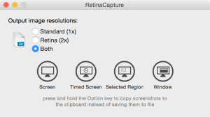 RetinaCapture 1.0.5 Screenshot