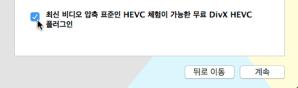 DivX HEVC Install Option